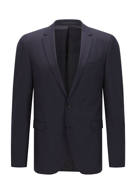 Extra slim fit jacket in pure wool - dark blue BOSS | Blazers | 50318525401