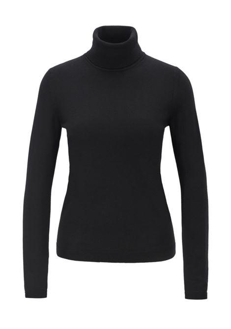 famaurie maglione a collo alto - nero BOSS | Maglieria | 50379079001