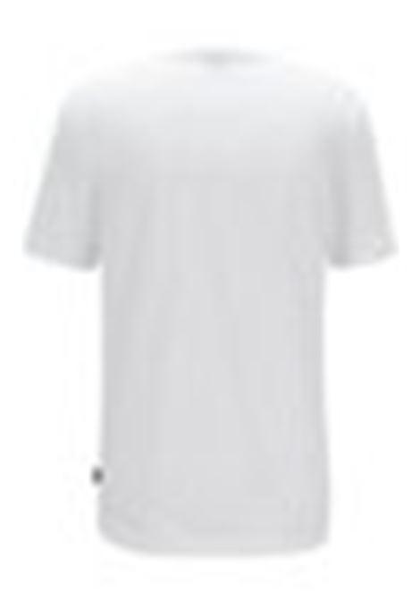 Tiburt55 T-shirt girocollo in puro cotone - bianco BOSS | T-shirt | 50379310100