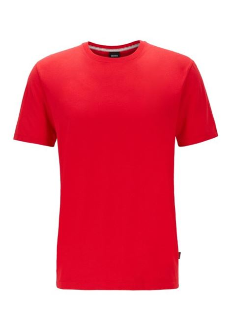 Tiburt55 T-shirt regular fit in morbido cotone BOSS | T-shirt | 50379310620