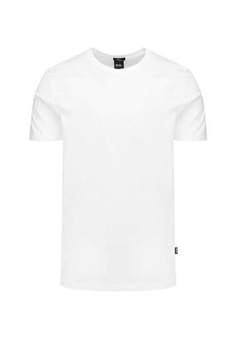 T-shirt slim fit in cotone mercerizzato BOSS | T-shirt | 50383822100