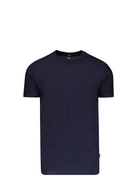 Tessler 100 T-shirt slim fit in cotone mercerizzato BOSS | T-shirt | 50383822402