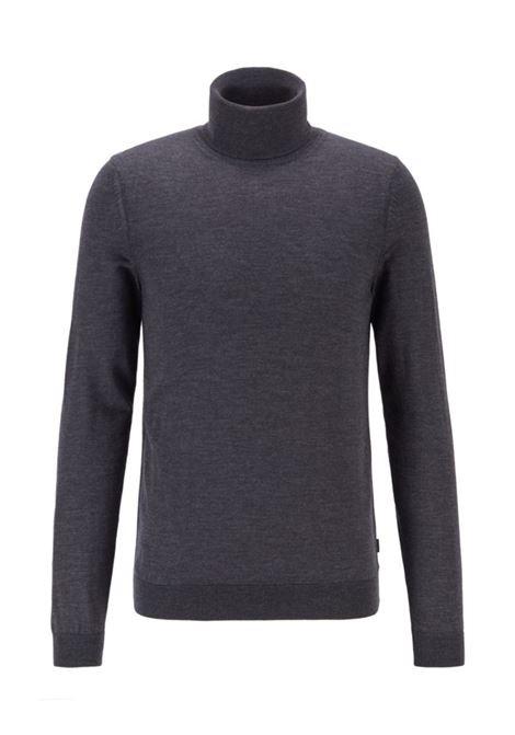 musso Maglione collo alto in lana merino BOSS | Maglie | 50392083061