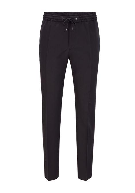 Pantaloni classici con coulisse nero BOSS   Pantaloni   50403896001