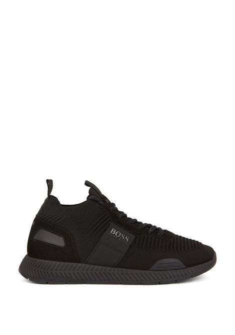 Titanium Hybrid runner-style sneakers BOSS | Shoes | 50414734001