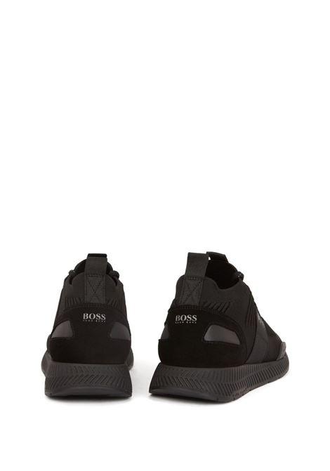 Titanium Hybrid runner-style sneakers BOSS | Sneakers | 50414734001
