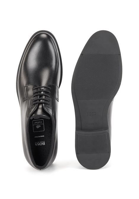 Italian-made leather Derby shoes with Outlast® lining BOSS | Lace-up shoes | 50417689001