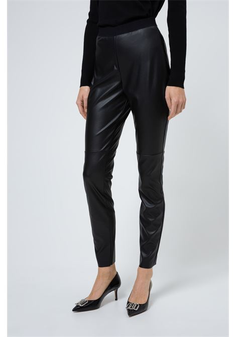 Pantaloni skinny fit in similpelle BOSS | Pantaloni | 50422066001