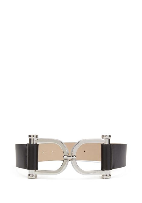 Kristin leather belt with original buckle BOSS | Belt | 50429749001