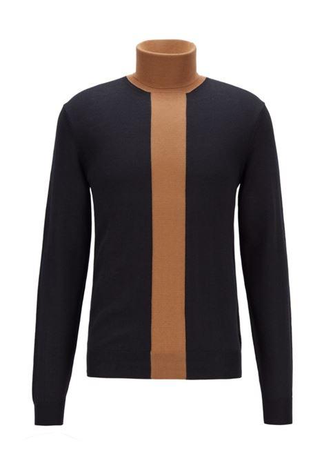 montes maglione a blocchi di colore in misto lana BOSS | Maglieria | 50434831001