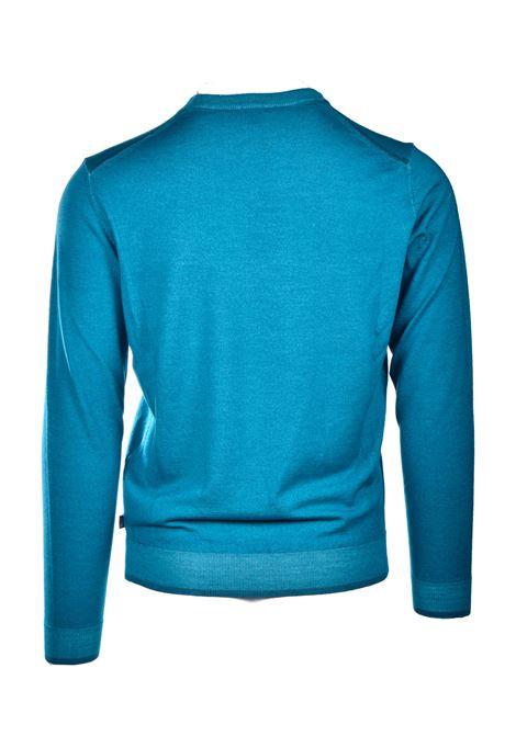 Maglione girocollo in lana vergine e seta BOSS | Maglieria | 50435289323