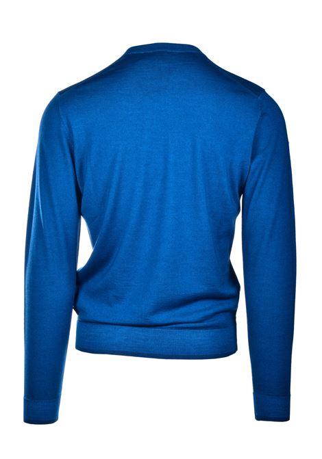 Maglione girocollo in lana vergine e seta BOSS | Maglieria | 50435289417