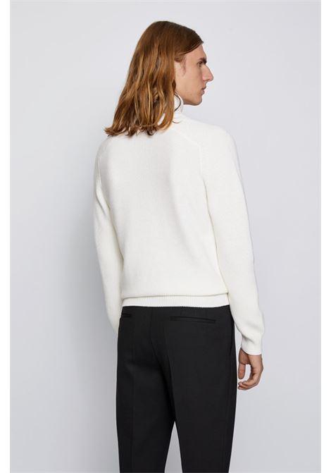 manuello Wool blend turtleneck sweater BOSS | Knitwear | 50435307118
