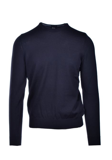 Maglione slim fit in lana vergine BOSS | Maglie | 50435462001