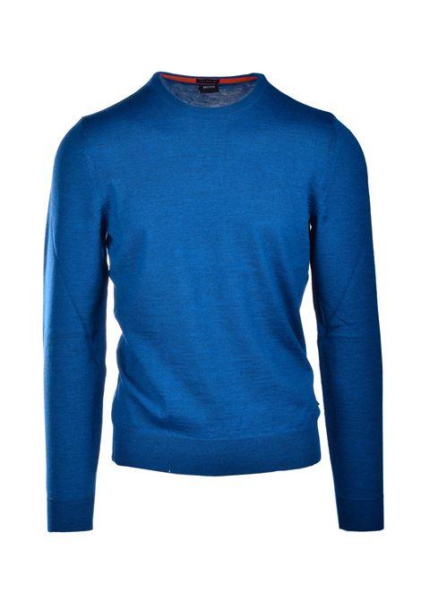 Maglione slim fit in lana vergine BOSS | Maglieria | 50435462417