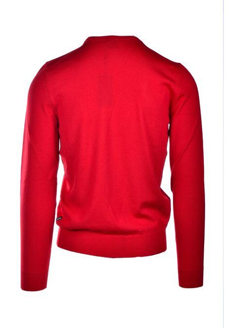 Slim fit sweater in virgin wool BOSS | Knitwear | 50435462620