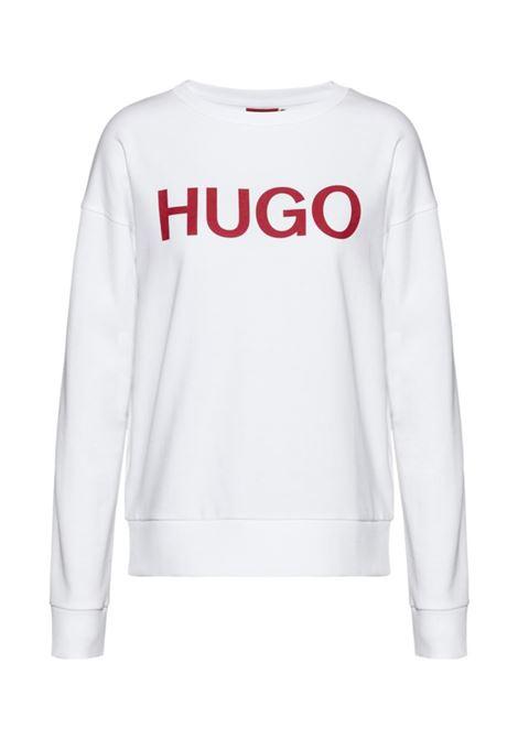 felpa con logo in cotone biologico BOSS | T-shirt | 50435665961
