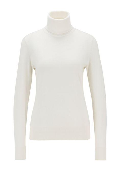 Fiddinias Maglione slim fit in cotone, seta e cashmere BOSS   Maglie   50436155118