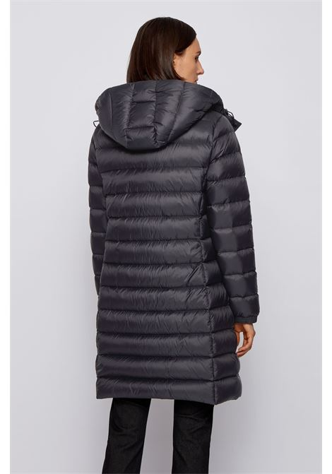 Long black packable down jacket BOSS | Jackets | 50436315001