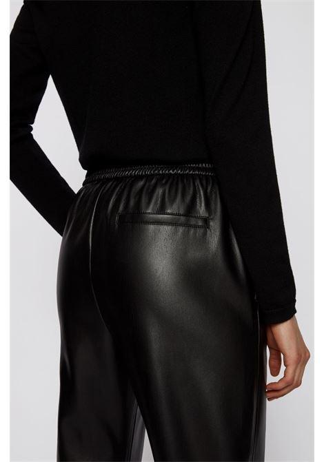 taledy leatherette jogging pants BOSS | Trousers | 50436334001