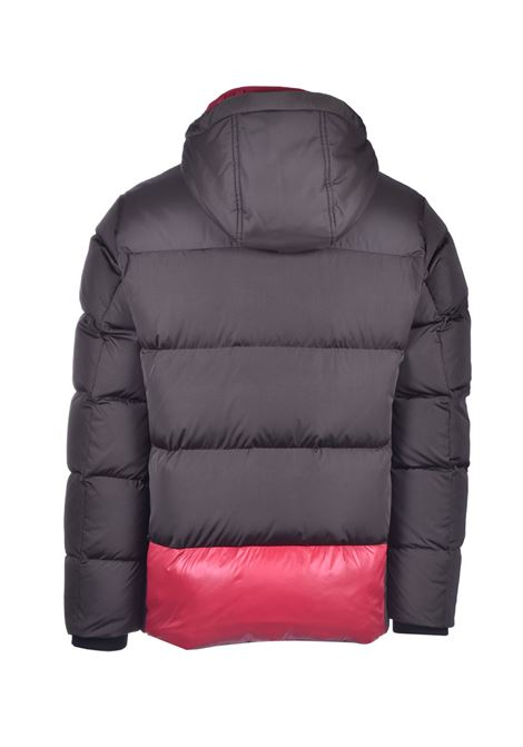 Dark green water-repellent down jacket with hood BOSS | Jackets | 50436502342