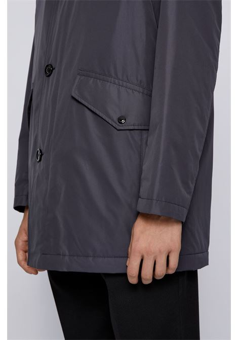 Caylen Short coat with funnel collar BOSS | Coat | 50436690402
