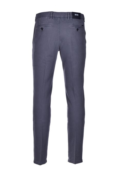 Kaito pantalone chino italian stretch - grigio BOSS | Pantaloni | 50437582032