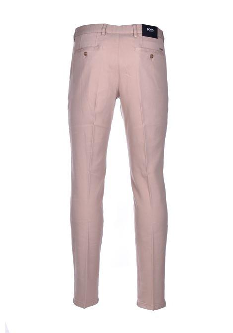 Kaito pantalone chino italian stretch - beige BOSS | Pantaloni | 50437582275