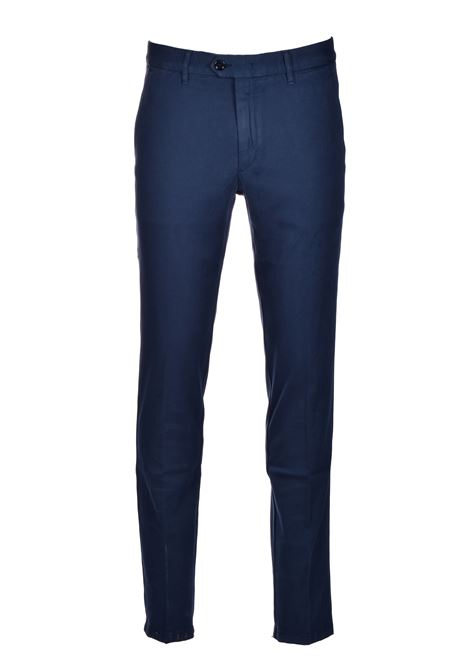 Kaito Italian stretch chino pants - dark blue BOSS | Pants | 50437582402