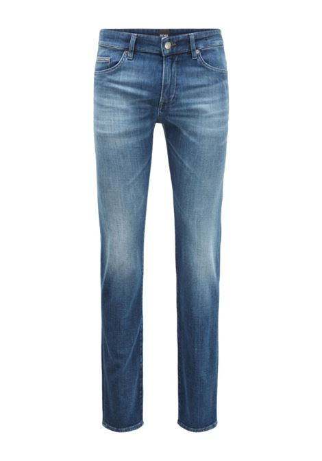 delaware3 Jeans slim fit effetto cashmere BOSS | Jeans | 50437918430