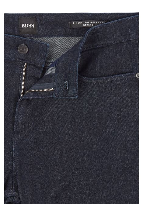 Delawere Slim fit jeans in Italian blue denim with wool BOSS | Jeans | 50437948410