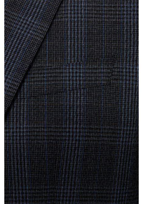 Huge/Genius Abito da uomo slim fit in lana vergine principe di Galles BOSS | Abiti Uomo | 50438224417