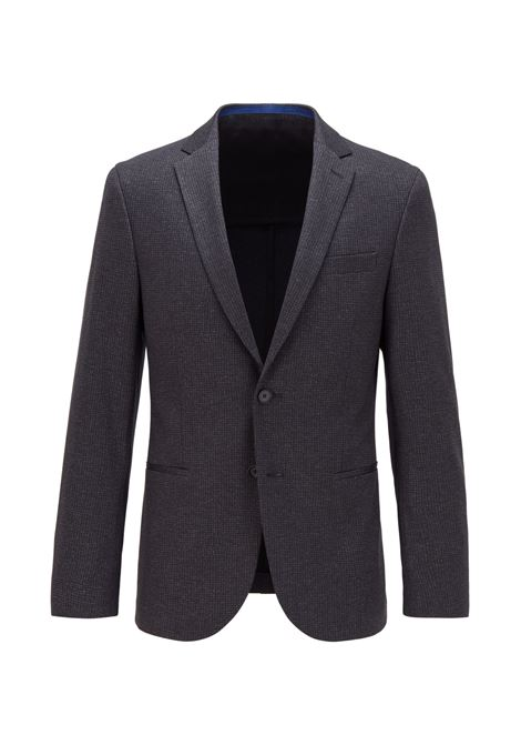 Light gray norwin slim fit jacket BOSS | Blazers | 50438362061