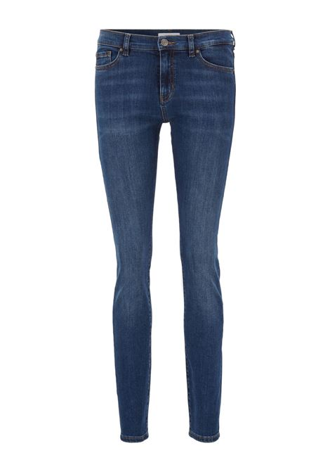 Jeans slim fit in denim super stretch blu medio BOSS | Jeans | 50439283415