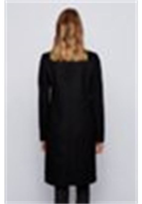 Elegant coat in virgin wool - black BOSS   Coat   50439438001