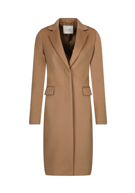 Elegant coat in virgin wool - camel BOSS | Coat | 50439438235