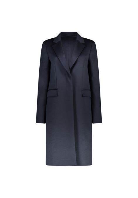 Elegant coat in virgin wool - blue BOSS | Coat | 50439438466