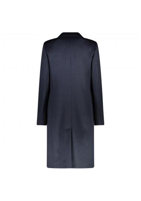 Cappotto elegante in lana vergine - blu BOSS | Cappotti | 50439438466
