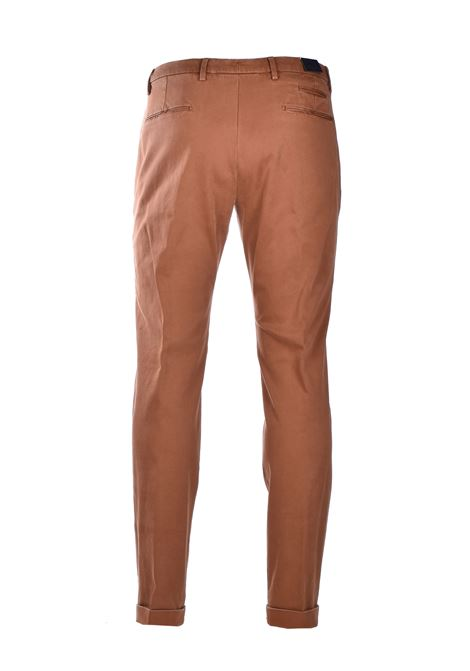 Cotton chino trousers - dark brown BRIGLIA | Pants | BG07 420557573