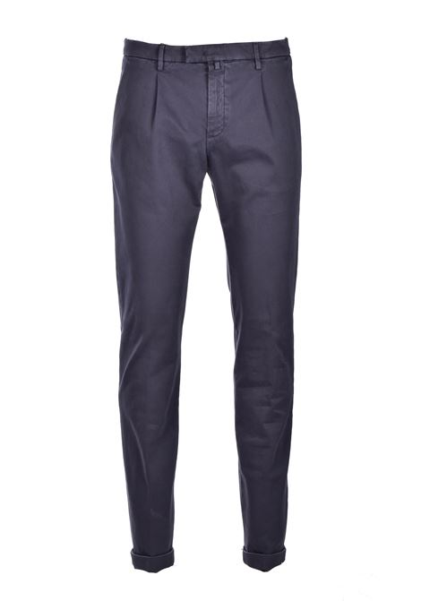Cotton chino trousers - dark gray BRIGLIA | Pants | BG07 420557590