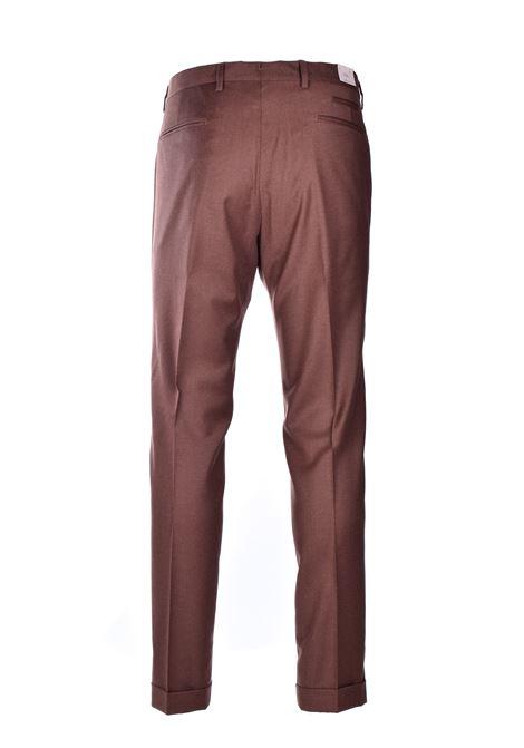 Pantalone classico in flanella - nocciola BRIGLIA | Pantaloni | BG07S 42012073