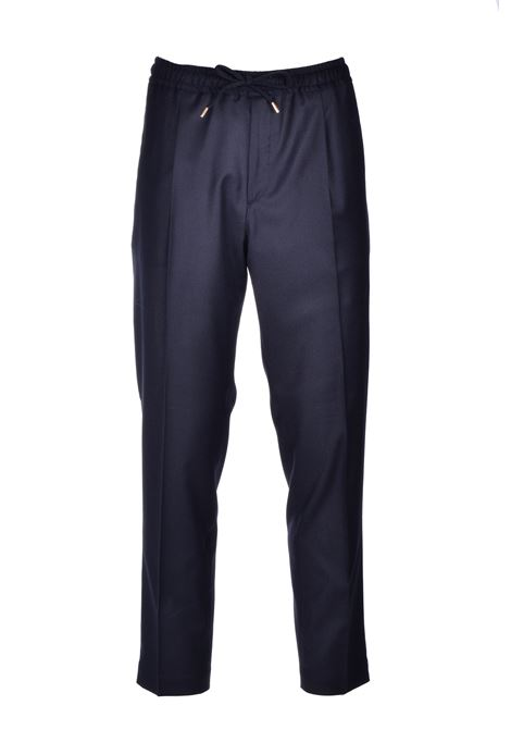 Black flannel trousers BRIGLIA | Pants | WIMBLEDONS 42012010