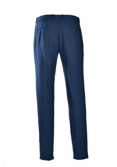 Midnight blue fleece chino trousers CIRCOLO 1901 | Pants | CN2743851TO