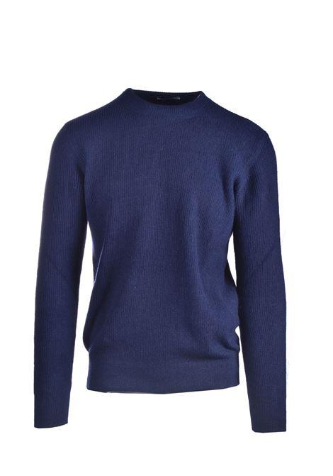 Maglione girocollo in misto lana vergine blu navy CIRCOLO 1901 | Maglieria | CN2898NAVY