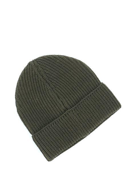 Cappello beanie in lana merino con logo C.P. COMPANY | Cappelli | 09CMAC241A005509A678