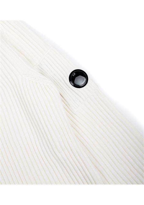 Maglia girocollo in misto lana merino C.P. COMPANY | Maglieria | 09CMKN221A005292A103