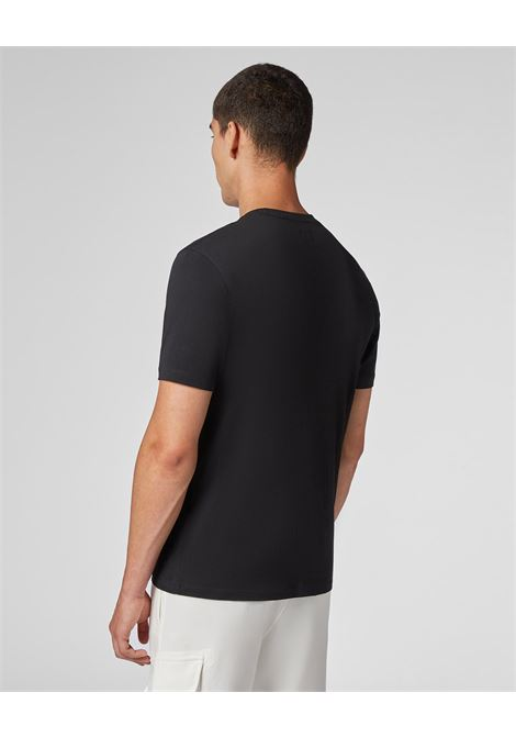 T-shirt in jersey con logo verticale C.P. COMPANY | T-shirt | 09CMTS157A005100W999