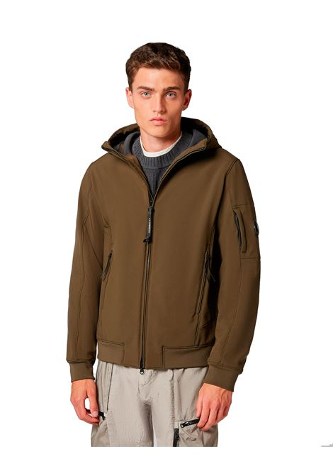 Jacket C.P. Military green hooded shell C.P. COMPANY | Jackets | 09CMOW042A005784A683