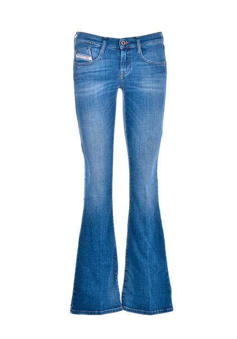 Mid blue D-ebbey flare bootcut jeans DIESEL | Jeans | 00SMMV 086AM01