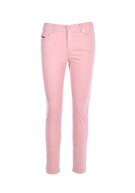 Jeans super-skinny D-roisin - rosa DIESEL   Jeans   00STRL 0096H33P